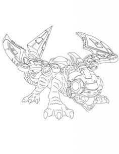 Skylander Giants Coloring Pages Pictures