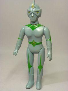 RARE Bullmark Mirror Man Big size 1970s Soft vinyl Doll JAPAN HTF 1479 #Bullmark