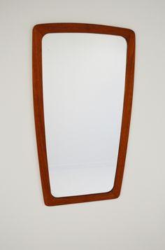 #Danish #teak #mirror