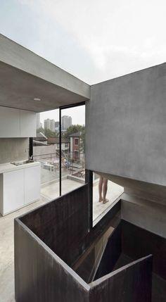 Galería de Re-pensando la 'Split House' / Neri & Hu Design + Research Office - 2 Mini Clubman, Architecture Details, Interior Architecture, Minimal Architecture, Bali, Neri And Hu, Apartment Guide, Design Research, Residential Architecture