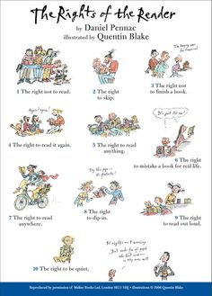 readers' rights by quentin blake
