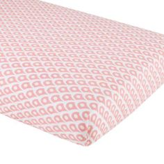 nice - not organic though - Mosaic Paisley Crib Fitted Sheet (Pink Diamond) Moon Nursery, Girl Nursery, Nursery Ideas, Project Nursery, Nursery Inspiration, Baby Sheets, Crib Sheets, Fitted Sheets, Pink Bedding