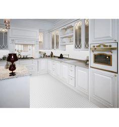 Mini cegiełka biała, szkliwiona - płytki ceramiczne/mozaika  sklep RawDecor.pl