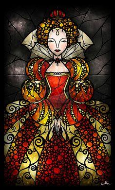 The Virgin Queen by mandiemanzano on deviantART