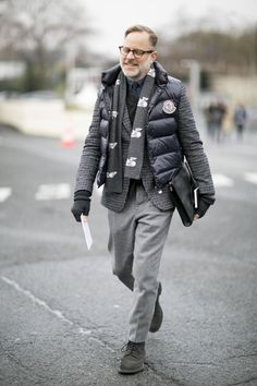 The Best Men's Street Style from Winter 2016   StyleCaster