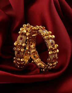 Checkout exclusive designs in silk thread bangles set for saree online. Beautiful Indian bangles, Rajasthani bangles, pearl bangles, kundan bangles & gold plated bangles for women. Gold Bangles Design, Jewelry Design, Silver Bracelets, Bangle Bracelets, Wedding Jewelry, Gold Jewelry, Kundan Bangles, Imitation Jewelry, Jewelry Patterns