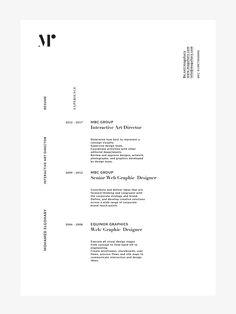 Resume on Behance Graphic Resume, Graphic Design Resume, Resume Design Template, Graphic Design Posters, Resume Templates, Page Layout Design, Web Design, Design Trends, Portfolio Resume