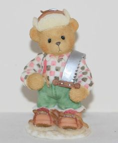 Cherished Teddies Preston from Canada Riding Across The Great White North