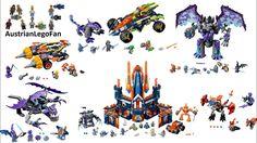 All Lego Nexo Knights Season 4 sets - Lego Speed Build Review
