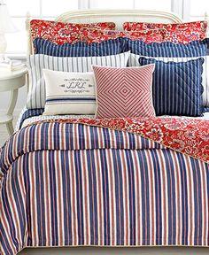 patriotic. Lauren  Ralph Lauren Bedding, Villa Martine Collection  Web ID: 619365 at Macy's
