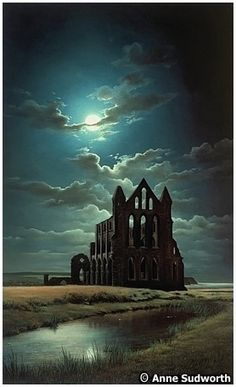 Whitby Abbey by Anne Sudworth                                                                                                                                                                                 More