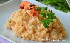 Slow Food, Italian Dishes, Italian Recipes, Italian Main Courses, Risotto Recipes, Comfort Food, Polenta, My Favorite Food, Gourmet Recipes