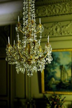 Gorgeous chandelier from the Thorne Rooms,