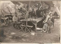 Gypsy Dinner Antique Family Photograph by FamilyTreeAntiques, $36.00