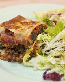 This family-friendly lasagna recipe comes from White House executive chef Cristeta Comerford.Also try: Winter Green Salad with Honey-Apple Cider Vinaigrette