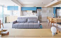 拉門隔間更寬敞 巴西 12 坪清新單身公寓 - DECOmyplace