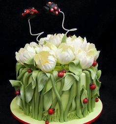 Natural cake would be great with my chocolate butterflies