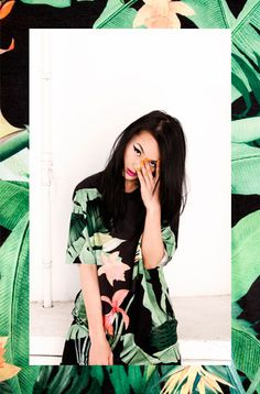 Bershka-Lookbook / Green