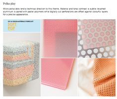 WGSN S/S '16 Solid Material Forecast - SOFT POP