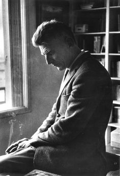 Gisèle Freund, Samuel Beckett, 1964 - #O.Lettera-Ti - @Libriamo Tutti