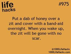18 Acne Hacks, Tips and Tricks To Get Rid Of and Cover Up Pimples - Home Remedies for Acne Scars Life Hacks Español, Life Hacks Iphone, Simple Life Hacks, Useful Life Hacks, Life Hacks Acne, Daily Hacks, Life Hacks For School, School Life, College Life