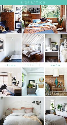 bedroom white brown