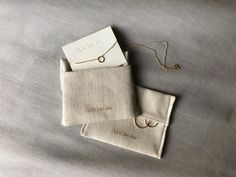 An introduction to Ara's new packaging, designed & made in-house with minimal waste, using fabric woven in Lancashire. Necklace Packaging, Jewelry Packaging, Jewelry Branding, Wire Jewelry Rings, Cute Jewelry, Packing Jewelry, Cute Packaging, Packaging Ideas, Moon Earrings