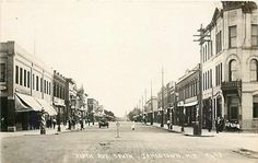 ND Jamestown North Dakota RPPC Fifth Avenue Stores Photo No 9645 | eBay