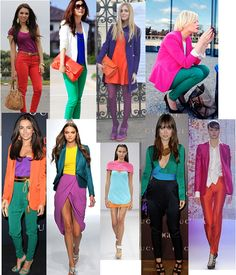 need to add some color blocking into my life...