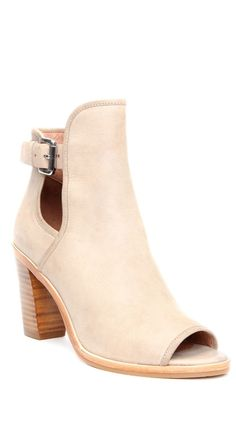 Just bought. Seriously one of the most comfortable shoes I've ever owned. Buy them! Perfect Peep Toes from Donald J Pliner®