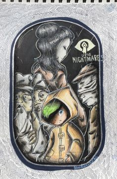 """janediamond31: """"Little Nightmares"""" is my new quiznak fav horror adventure I finished to watch Jack's playing this game and It's really funny especially when Six eats *coff coff Ahahah perfect ending oh wait not a perfect ending """"creepy"""" ending :3 And this drawing came too well Im really proud of it! Hope you like it guys! jacksepticeye for playing this creepy tiny little game :3 therealjacksepticeye: This is incredibly cool :D thank you so much!"""