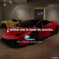 L'action est la base du succès. - http://cervonext.fr/ - Follow : @cervonext