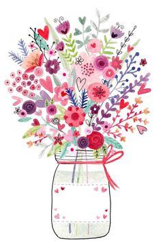 Felicity French - Mason-jar-floral