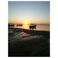 Sunrise at sanur Beach #bali #indonesia