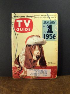 Vintage TV Guide's | Vintage TV Guide December 1955 Cleo of The Peoples Choice from ...