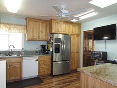 Ocean Bluffs is a resort-like senior community in South San Diego. Manufactured Homes For Sale, Senior Communities, Mobile Homes For Sale, San Diego, Kitchen Cabinets, Ocean, Community, Home Decor, Decoration Home