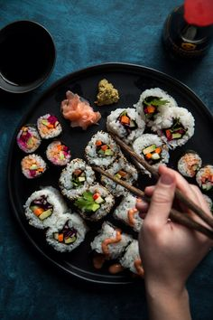 Vegetarian Sushi and 5 Tips For Great Sushi At Home | Will Cook For Friends