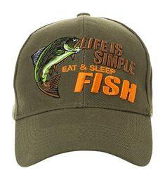 6. KC Caps Unisex Hunting Fishing Cap Adjustable Embroidery Design ... 9928c8c3d74b