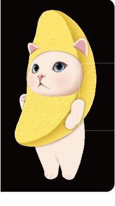 Jetoy☆choo choo banana cat smartphone case https://twitter.com/jetoyjapan/status/806408489555759104 http://www.choochoo.jp/products/detail2459.html