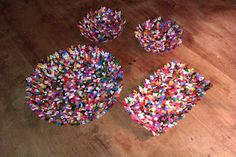 bowls of fusible beads. So colorfull!