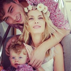 Francisco Lachowski and Jessiann Gravel Wedding with baby Milo Lachowski