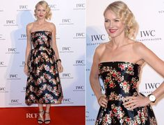 Naomi Watts In Dolce -'For The Love Of Cinema' event hosted by Swiss luxury watch manufacturer IWC Schaffhausen at the Hotel du Cap-Eden-Roc in Antibes, France on Sunday evening