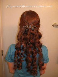 Bandana Curls or Rag Curls for Long Hair tutorial and video Face Shape Hairstyles, Bandana Hairstyles, Curled Hairstyles, Trendy Hairstyles, Hairdos, Bandana Curls, Rag Curls, Curls Hair, Curls For Long Hair