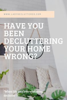 Being in the business of decluttering and organizing, I have noticed that most people want to declutter but they think there is only one way to do it. That way doesn't work, they get discouraged and then give up.  I am happy to let you know there are different ways to declutter and maybe the way you have been trying for years has never worked for you but there is another option! #ladydecluttered#howtodeclutteryourhome#declutteringtips#declutteringadvice#declutteringmethods