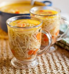 Chicken Noodle Soup (New York Penicillin) - A hearty and flavorful chicken noodle soup with vegetables - also known as New York Penicillin