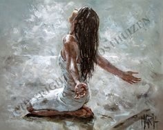 ❤ Grief is ever missing you terribly. ever praising our Heavenly Father that He has you safely in His arms. I ❤ U, ~Mommy ༺♥༻ (~Artist ©Maria Magdalena Oosthuizen) Braut Christi, Jesus Art, Bride Of Christ, Prophetic Art, Christian Art, Beautiful Paintings, Art Pictures, Painting Inspiration, Painting & Drawing