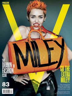 Miley Cyrus Gets Emancipated in V Magazine