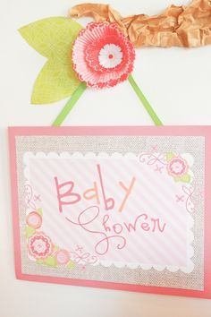 A Baby Shower Happy Hour - By Project Nursery