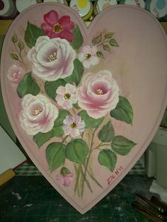 Decorative Painting and Folk Art, Decoupage, Floral Crafts, Home Decor