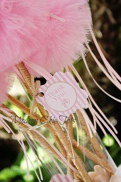 "Ballerina ""Thank You"" printable tags"